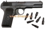 Пистолет сигнальный модели ТТ-С (ВПО-506) под капсюль воспламенитель «Жевело» (из боевого ТТ производства после 1946 года – «нов
