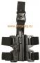 Профессиональная жесткая тактическая кобура Dasta для пистолета BERETTA - 92 и его страйбольных, газовых и пневматических аналог