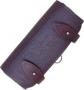 Подсумок двухрядный (2 х 8 патронов) на пояс кожаный 12-16 клб ХСН, арт. 220