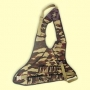 Нагрудник охотника на 30 патронов (расцветка - ДУБОК) Хольстер, арт. 1002
