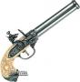 Макет 3-х ствольного пистолета системы Лоренцони, Италия 1680 год, Denix (1016G)