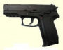 Пистолет KWC KM47D Sig Sauer metal slide