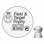 Пули Field Target Trophy гладкие 4,5 мм. 8,64 гр. (500 шт.)