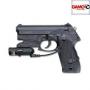 Пистолет пневматический Gamo PT-80 4,5 mm Combo Laser