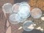 Прокладка 12 калибра прозрачная на порох и дробь полиэтиленовая (упак. 200 шт.)