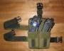 Подсумок набедренный для двух магазинов Сайга-МК, AKM, AK-74, AK-47