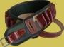 Патронташ открытый РО-3 (синтетика+кожа, камуфлированный) на 24 патрона 12/16 клб (Екатер.)