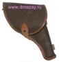 Кобура для револьвера Наган штатная закрытая поясная из кожзаменителя